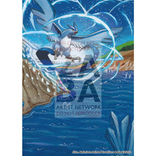 Articuno 16/108 Roaring Skies Extended Art Custom Pokemon Card Silver Holo