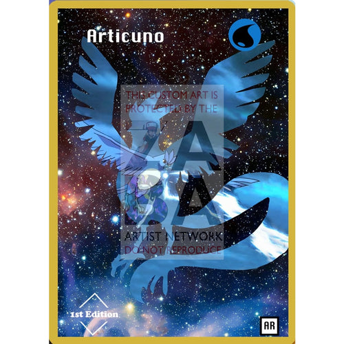 Articuno Anime Silhouette (Drewzcustomcards) - Custom Pokemon Card