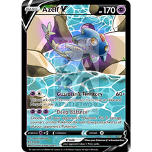 Azelf V Custom Pokemon Card Silver Foil