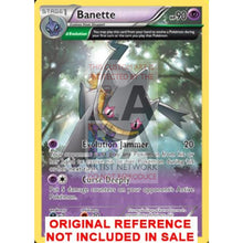 Banette 32/108 Xy Roaring Skies Extended Art Custom Pokemon Card