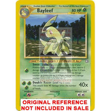 Bayleef 29/111 Neo Genesis Extended Art Custom Pokemon Card
