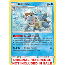 Blastoise 25/181 Team Up Extended Art Custom Pokemon Card