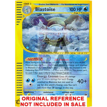 Blastoise 4/165 Expedition Extended Art Custom Pokemon Card