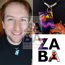 Blaziken Fb Lv.x 142/147 Supreme Victors Extended Art Custom Pokemon Card 18 Necklace (Pic For