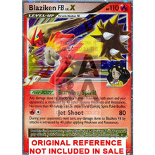 Blaziken Fb Lv.x 142/147 Supreme Victors Extended Art Custom Pokemon Card
