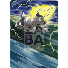 Blitzle 56/149 Boundaries Crossed Extended Art Custom Pokemon Card Textless Silver Holographic