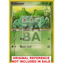 Bulbasaur 12/17 Pop 2 Extended Art Custom Pokemon Card