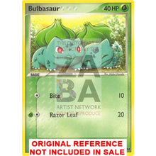 Bulbasaur 12/17 Pop Series 2 Extended Art Custom Pokemon Card