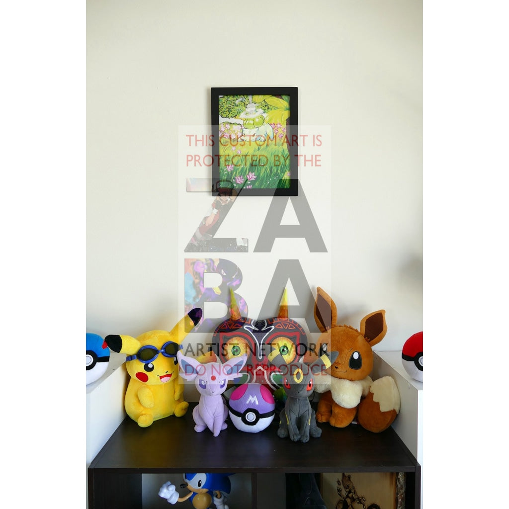 Bulbasaur (44/102 Base Set) 8.5 X 11 Poster Print By Lunumbra