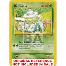 Bulbasaur 44/102 Base Set Extended Art - Custom Pokemon Card