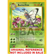 Butterfree 33/64 Jungle Extended Art Custom Pokemon Card