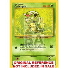 Caterpie 45/102 Base Set Extended Art Custom Pokemon Card