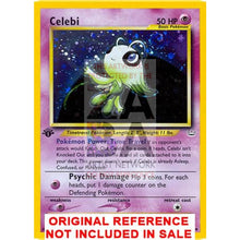 Celebi 3/64 Neo Revelation Extended Art Custom Pokemon Card