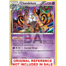 Chandelure 43/119 Phantom Forces Extended Art Custom Pokemon Card