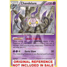 Chandelure 60/101 Black & White Noble Victories Extended Art Custom Pokemon Card