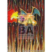 Charizard 11/108 Evolutions Extended Art Custom Pokemon Card Silver Holo