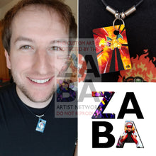 Charizard 3/110 Legendary Collection Extended Art Custom Pokemon Card 18 Necklace (Pic For