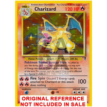 Charizard 3/110 Legendary Collection Extended Art Custom Pokemon Card