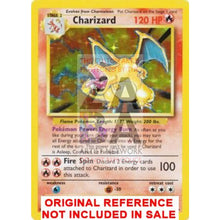 Charizard 4/102 Base Set (World First) Extended Art Custom Pokemon Card