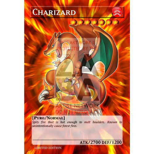 Charizard Full Art Orica - Custom Yu-Gi-Oh! Card