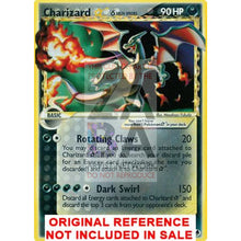 Charizard Gold Star 100/101 Dragon Frontiers Extended Art Custom Pokemon Card