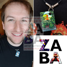 Charmander 1/70 Sun & Moon Dragon Majesty Extended Art Custom Pokemon Card 18 Necklace (Pic For