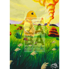 Charmander 46/102 Base Set Extended Art Custom Pokemon Card Textless Silver Holographic
