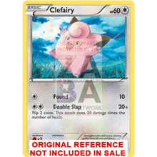 Clefairy 97/135 B&w Plasma Storm Extended Art Custom Pokemon Card