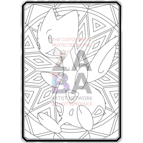 Togetic Coloring page | Pokemon coloring, Pokemon coloring pages ... | 500x500