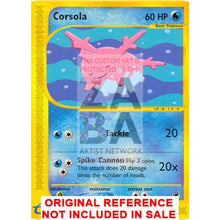 Corsola 102/165 Expedition Extended Art Custom Pokemon Card