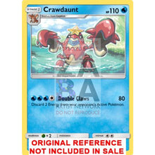Crawdaunt 25/111 Crimson Invasion Extended Art Custom Pokemon Card