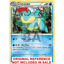 Croconaw 41/95 Call Of Legends Extended Art Custom Pokemon Card
