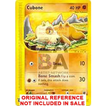 Cubone 103/165 Expedition Extended Art Custom Pokemon Card