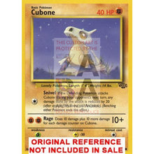 Cubone 50/64 Jungle Set Extended Art Custom Pokemon Card