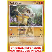 Cubone 90/146 Diamond & Pearl Legends Awakened Extended Art Custom Pokemon Card
