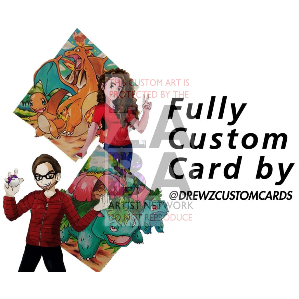 Custom Drewzcustomcards Card *(Must Talk With Drew Before Checkout)* Pokemon