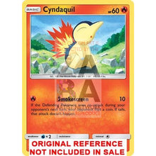 Cyndaquil 39/214 Lost Thunder Extended Art Custom Pokemon Card