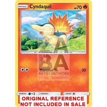 Cyndaquil 40/214 Lost Thunder Extended Art Custom Pokemon Card