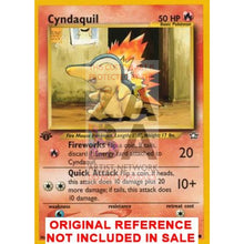 Cyndaquil 57/111 Neo Genesis Extended Art Custom Pokemon Card