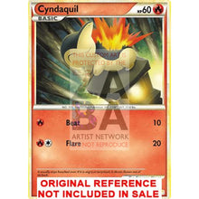 Cyndaquil 61/123 Heartgold Soulsilver Extended Art Custom Pokemon Card