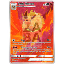 Dark Flareon Jolteon & Vaporeon Triple Pack Lunumbra Extended Arts! Custom Pokemon Card
