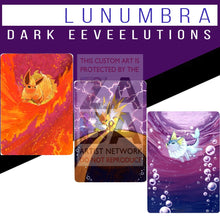 Dark Flareon Jolteon & Vaporeon Triple Pack Lunumbra Extended Arts! Textless Silver Holographic