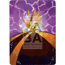 Dark Jolteon Team Rocket 38/82 Extended Art Custom Pokemon Card Textless Silver Holographic