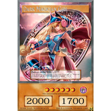 Dark Magician Girl V.7 - Custom Yu-Gi-Oh! Card With Effect Box