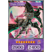 Dark Paladin Full Art Orica - Custom Yu-Gi-Oh! Card No Effect Box Silver Foil