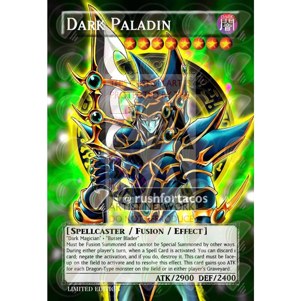 Dark Paladin Full Art Orica - Custom Yu-Gi-Oh! Card