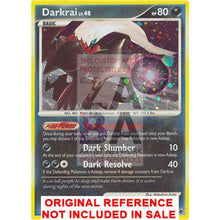Darkrai 3/100 Majestic Dawn Extended Art Custom Pokemon Card