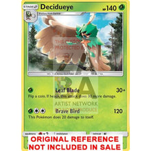 Decidueye 11/149 Sun & Moon Extended Art Custom Pokemon Card