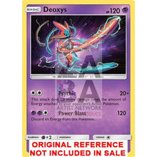 Deoxys 67/168 Celestial Storm Extended Art Custom Pokemon Card