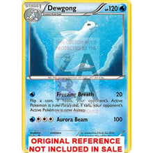 Dewgong 16/124 Xy Fates Collide Extended Art Custom Pokemon Card